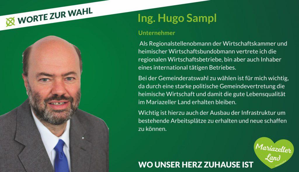 Ing. Hugo Sampl