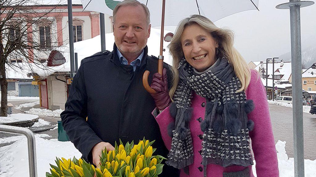 Walter Schweighofer und Renate Kuss