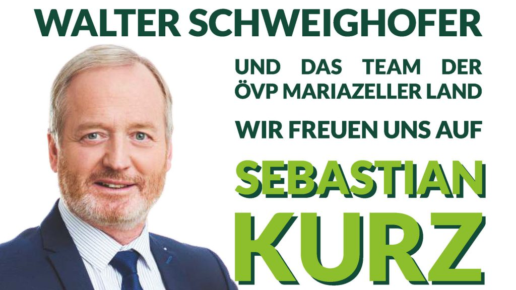 Besuch Sebastian Kurz - Ankündigung