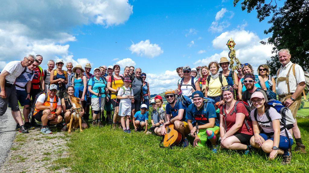 Fußwallfahrt zum Sonntagberg 2020 - Foto: Mariazell Online