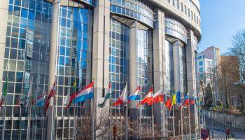 Europaparlamentsgebäude in Brüssel - Foto: INGImage